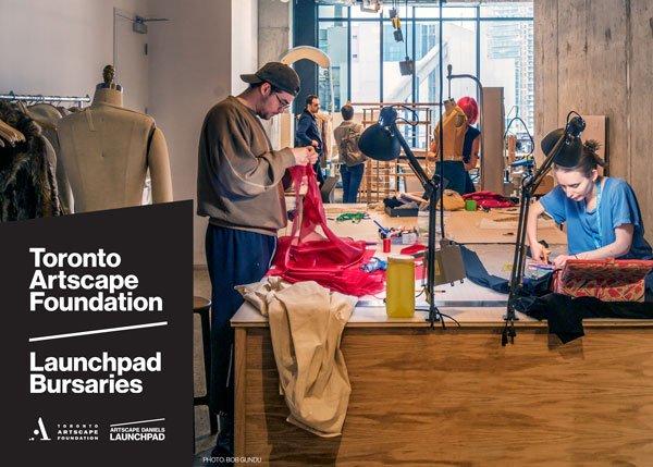 Toronto Artscape Foundation Launchpad Bursaries