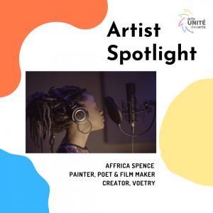 Artist Spotlight: Affrica Spence