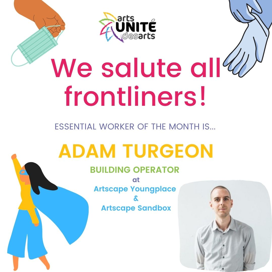 Essential Worker of the Month: Adam Turgeon