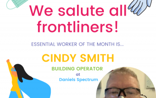 Essential Worker of the Month: Cindy Smith