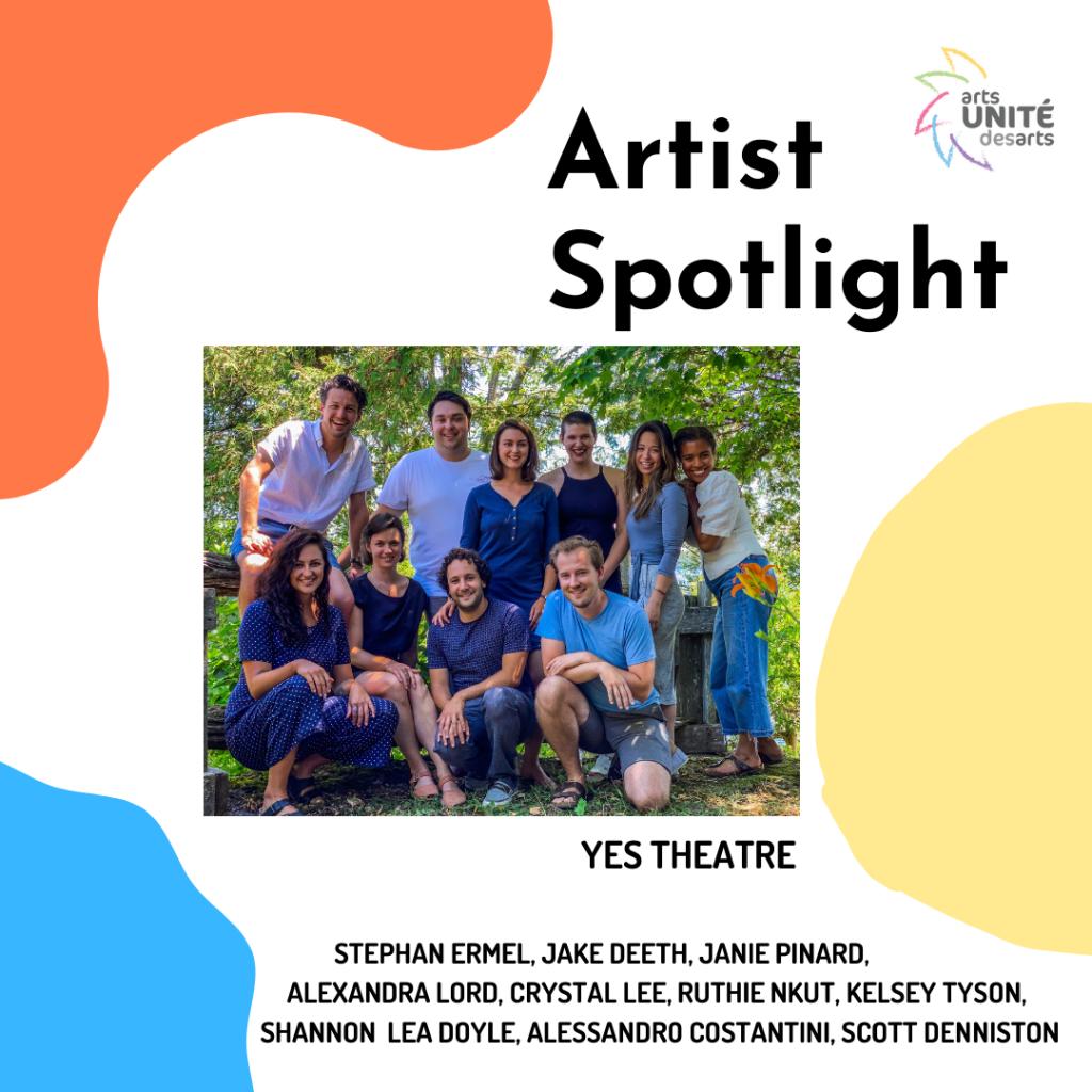 Artist Spotlight: YES Theatre