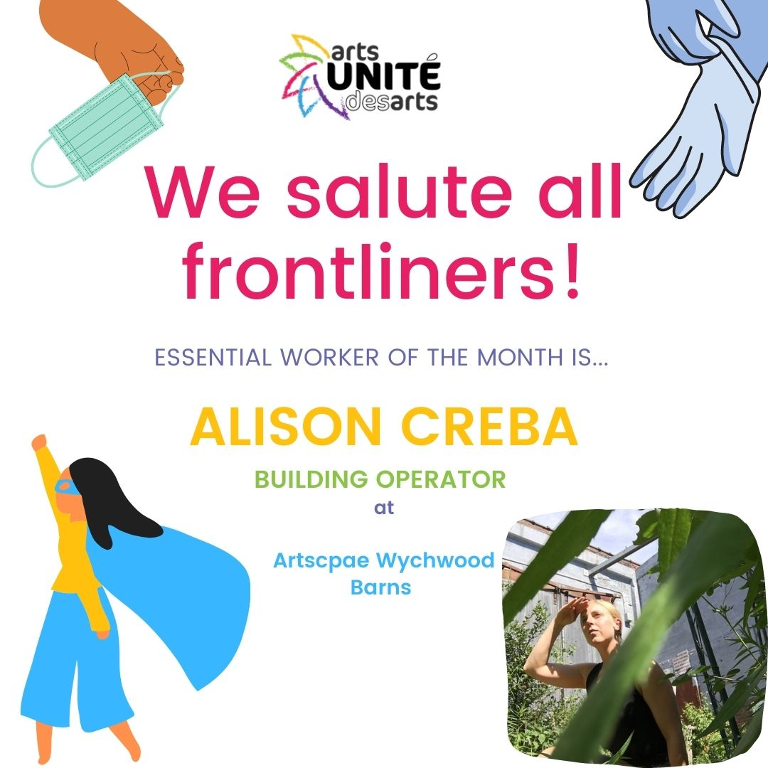 Essential Worker of the Month: Alison Creba