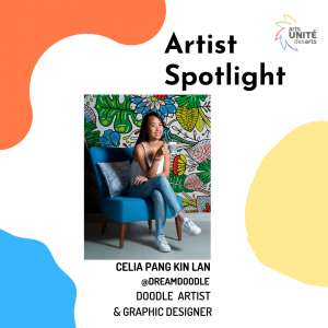 Artist Spotlight featuring Celia Pang Kin Lan, Doodle Artist and Graphic Designer