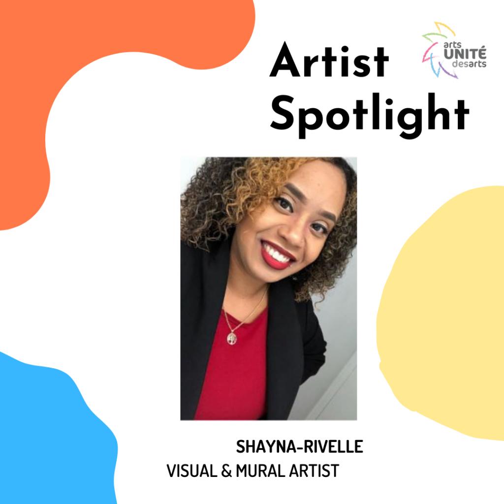 Artist Spotlight featuring Shayna-Rivelle