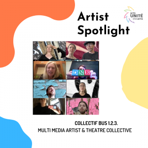 Artist Spotlight featuring Collectif Bus 1.2.3