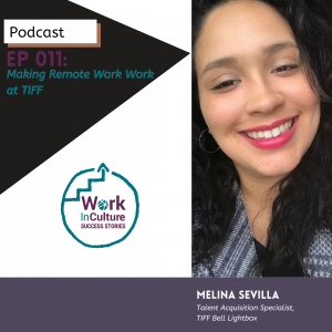Melina Sevilla, Talent Acquisition Specialist from TIFF
