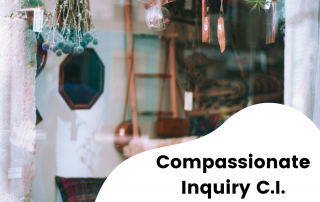 Compassionate Inquiry Workshop Banner