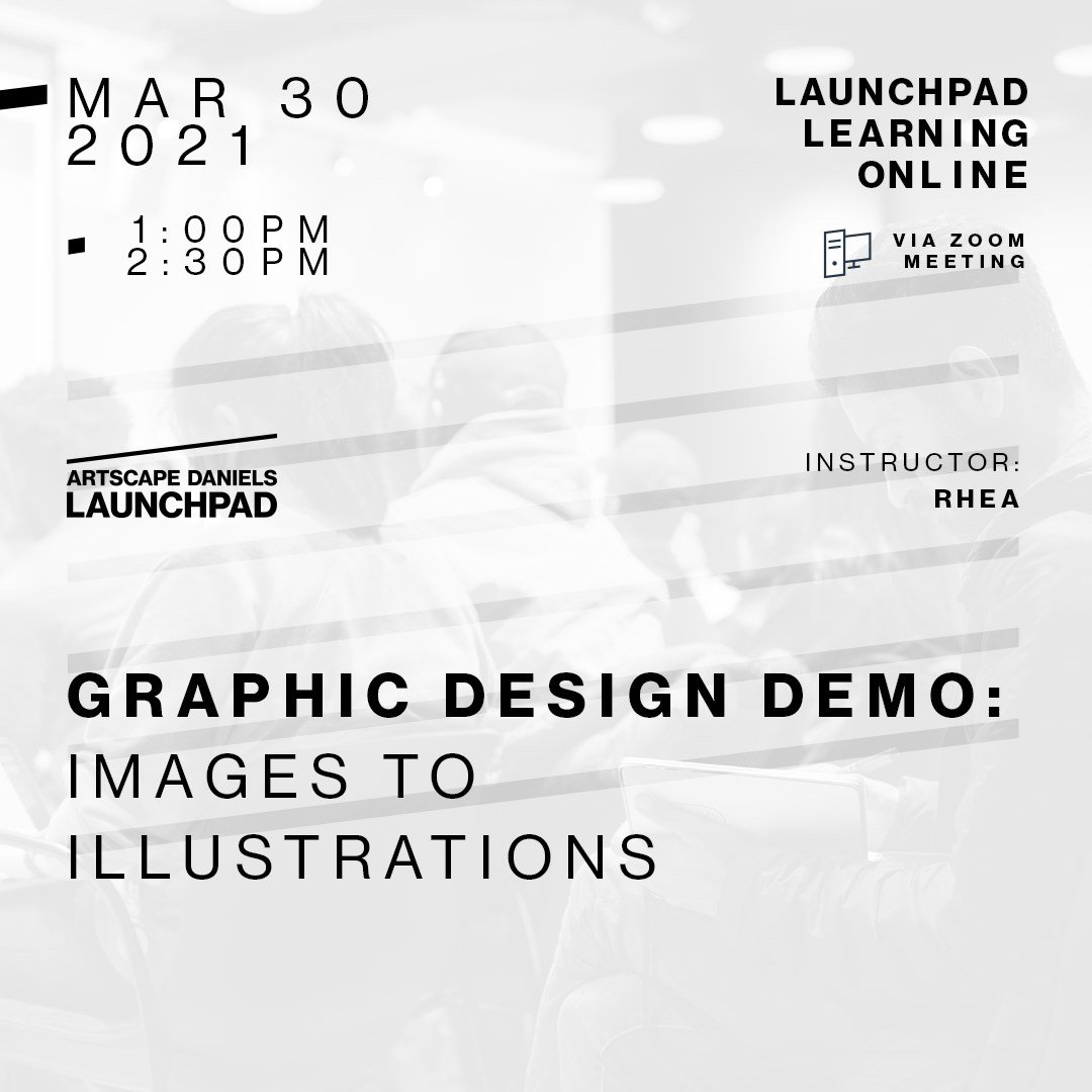 Graphic Design Demo with Launchpad Learning