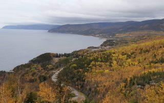 Cabot Trail in Autumn.