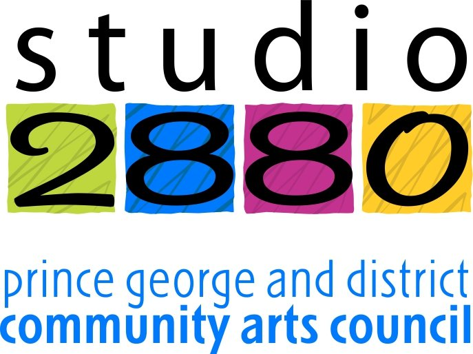 Studio 2880, Prince George and district community arts council logo